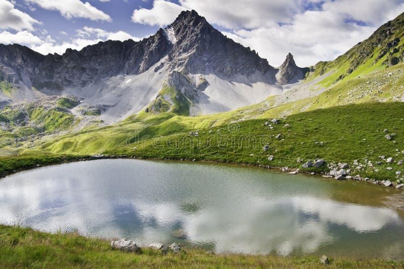 park narodowy vanoise fotografia stock