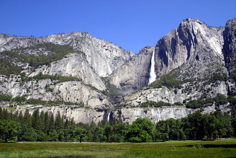 park narodowy Yosemite obraz royalty free