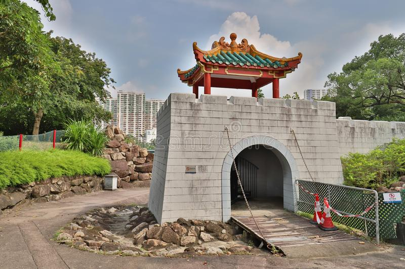 A Park in the New Territories sha tin. Park in the New Territories sha tin royalty free stock photography