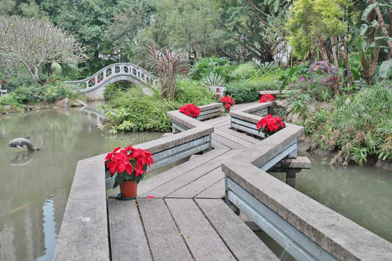 A Park in the New Territories sha tin. Park in the New Territories sha tin, Hong Kong royalty free stock photo