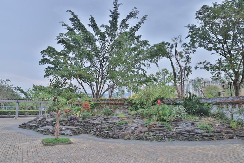A Park in the New Territories sha tin. Park in the New Territories sha tin royalty free stock photos