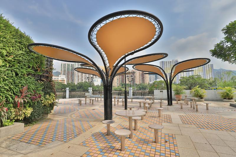 A Park in the New Territories sha tin. Park in the New Territories sha tin stock photo