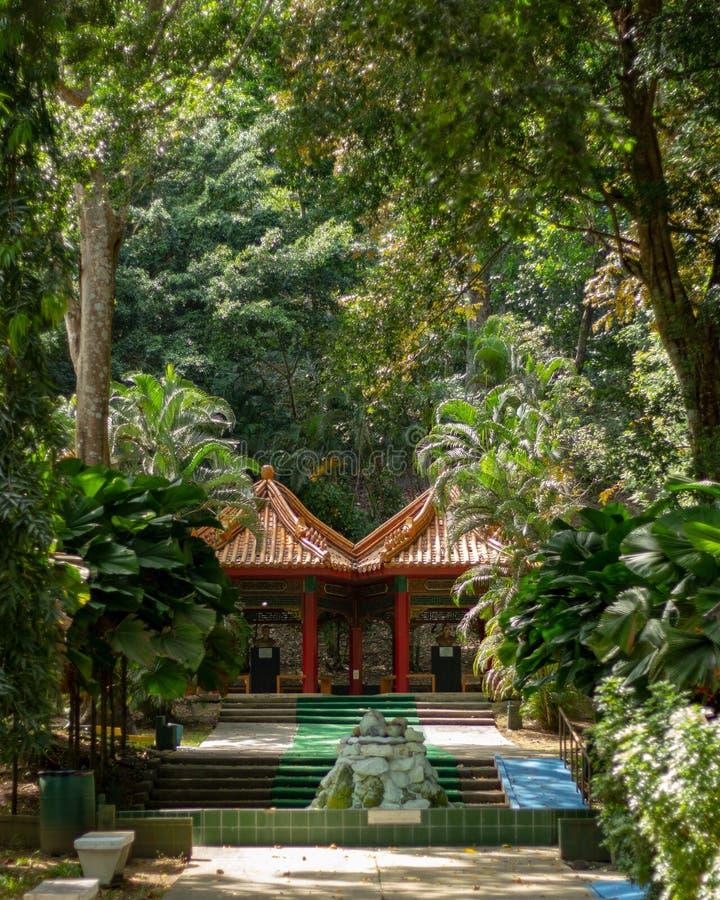 Park Panamanian Chińska przyjaźń obrazy royalty free