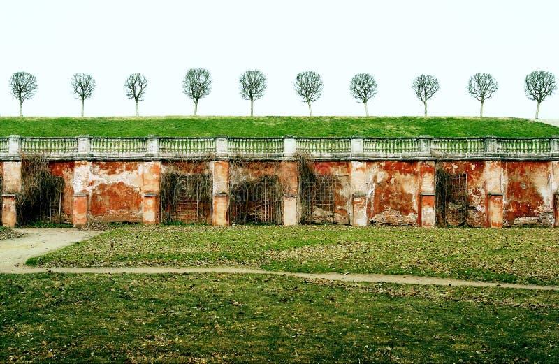 Park in Petergof stockbilder