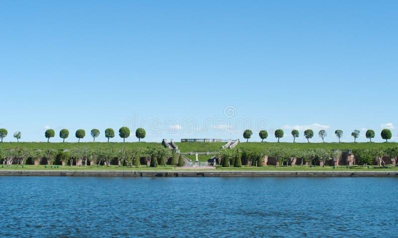 Download Park in Peterhof stock image. Image of petrodvorets, peaceful - 19965111