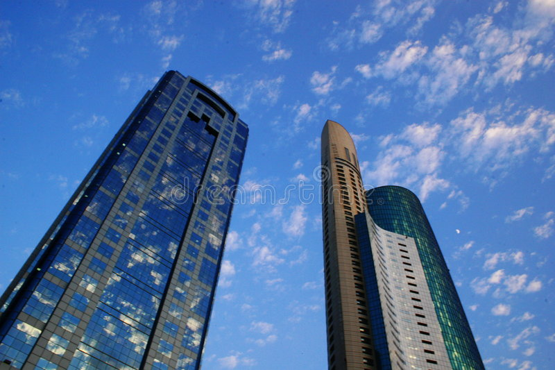 Acico Twin Towers In Dubai, UAE Editorial Photography - Image of