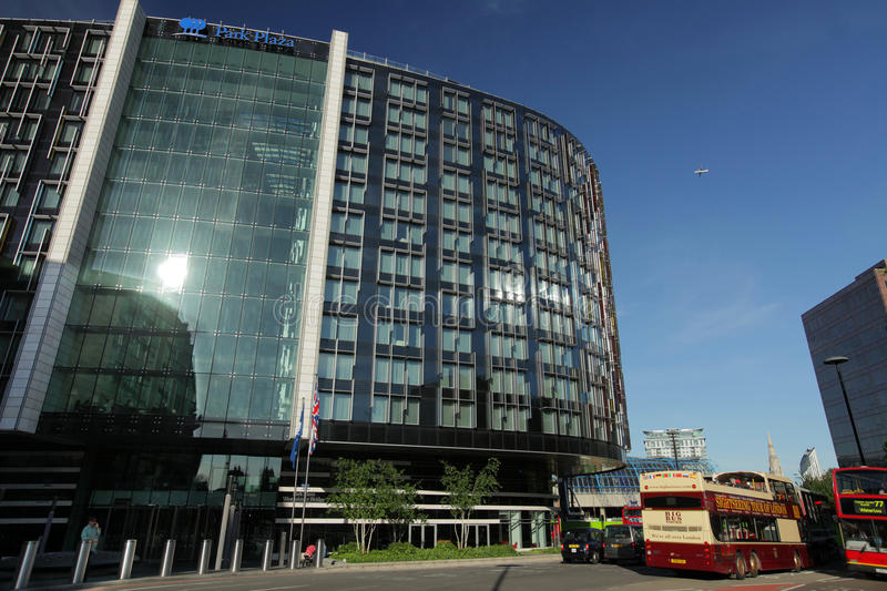 Park Plaza in London editorial stock image. Image of development - 31508929