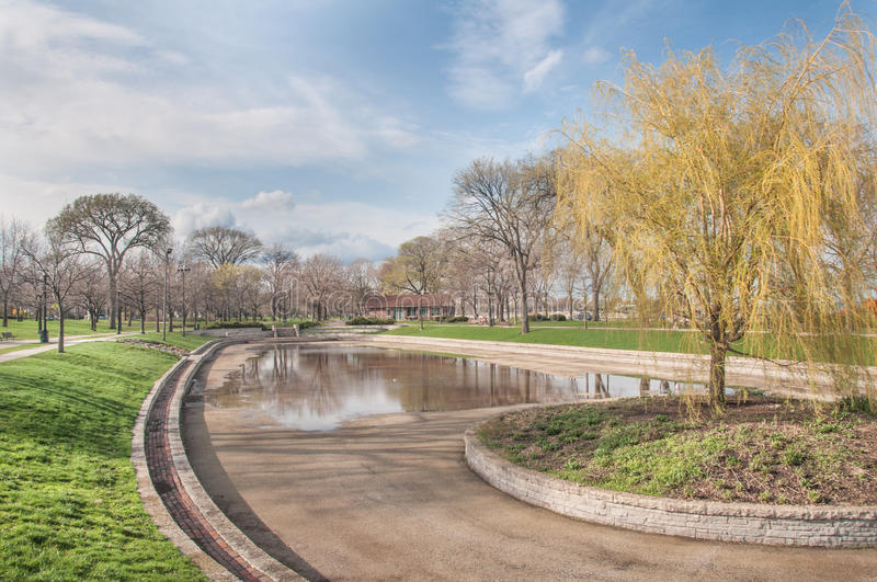 Download Park Pond stock image. Image of path, city, fresh, green - 26782297