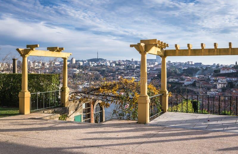 Park in Porto stock photography