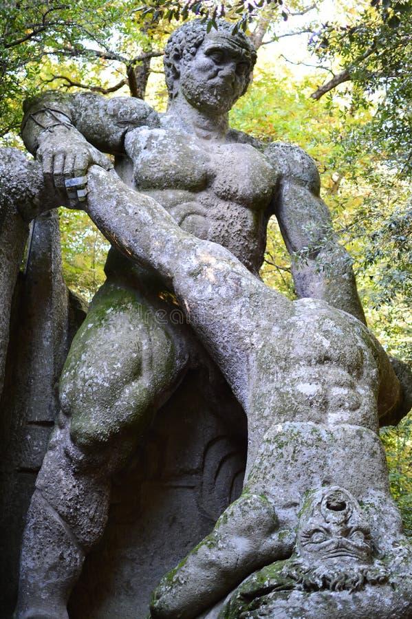 Park potwory obraz royalty free