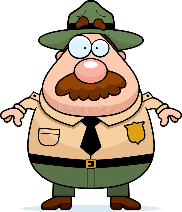 Park Ranger Cartoon