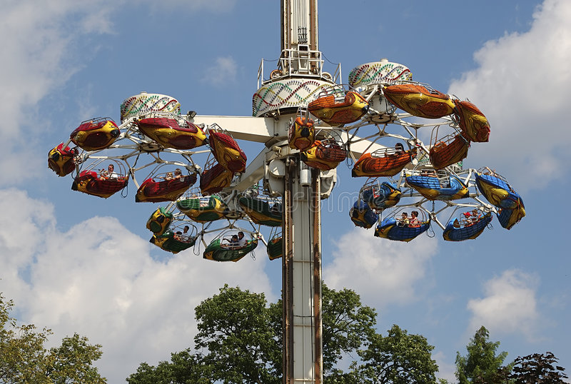 Download Park Rides stock photo. Image of outdoors, spinning, amusement - 20918
