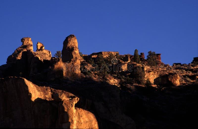 park rock smitha, że st wschód słońca obrazy royalty free