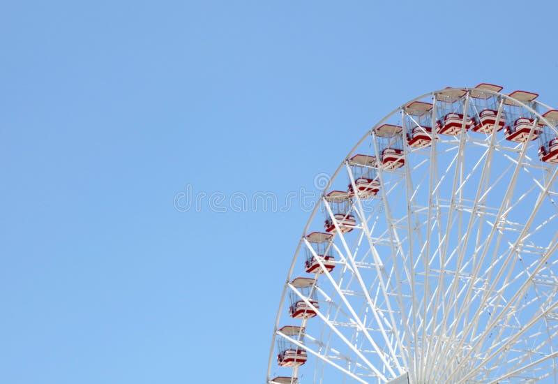 Park rozrywki, A ogromny koło zdjęcia royalty free