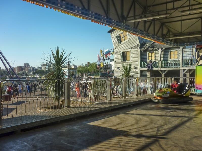Park Rozrywki w Montevideo obrazy stock