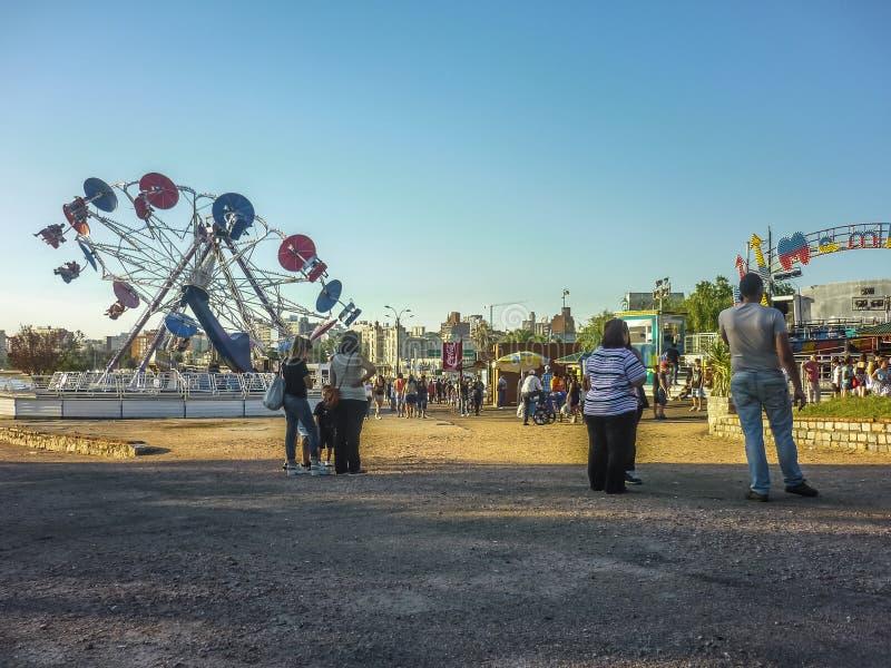 Park Rozrywki w Montevideo obraz royalty free
