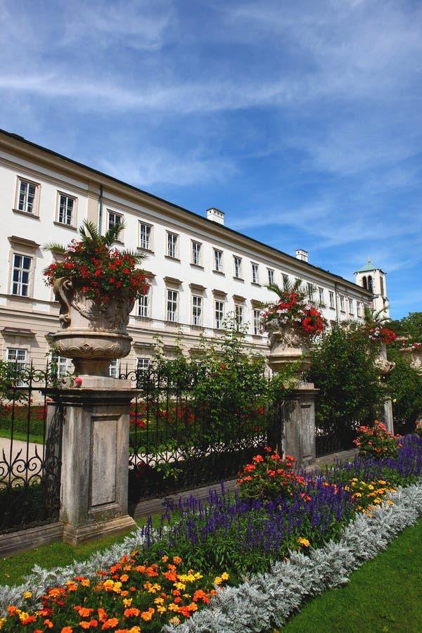 Park in salzburg royalty free stock photos