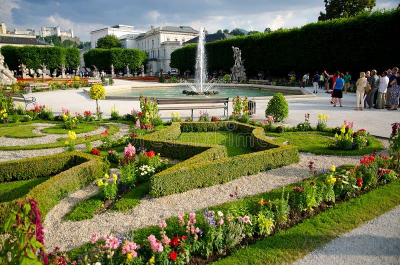 Park in Salzburg stock fotografie