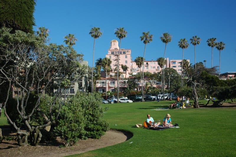 Park in San Diego royalty-vrije stock afbeelding
