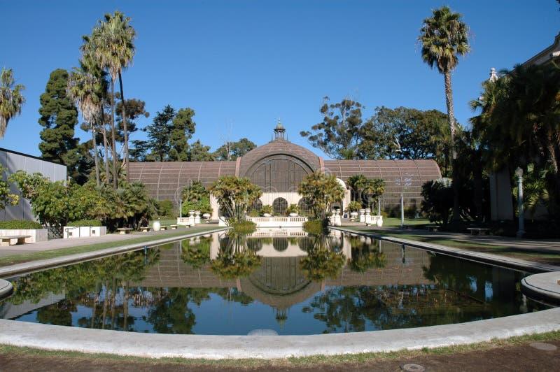 park san för balboaca diego arkivfoton