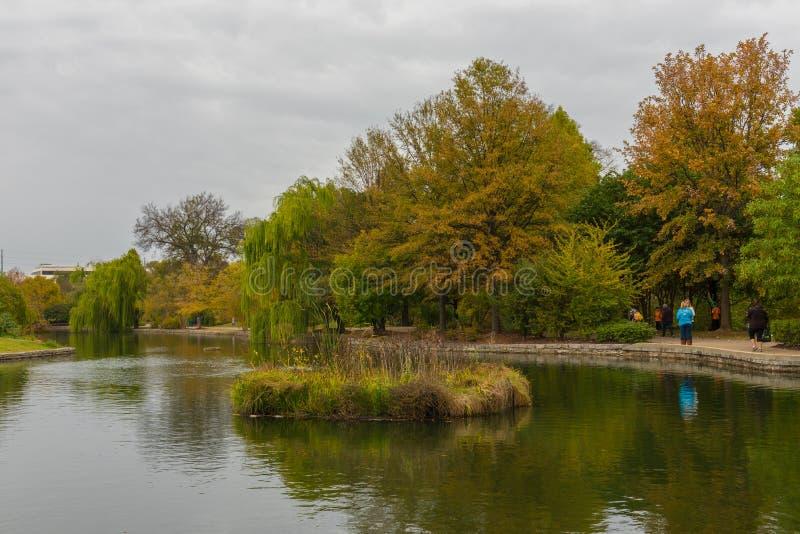 park saturday royaltyfria bilder