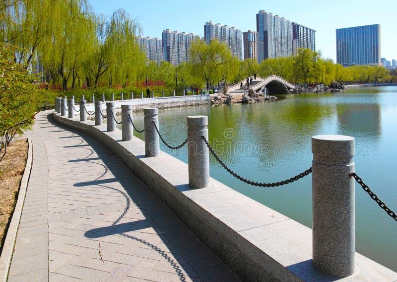 Park Scenery Stock Photography