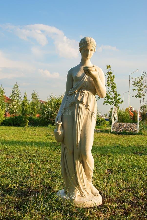 Park sculpture stock images