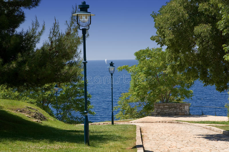 Download Park By The Sea Stock Images - Image: 14661894