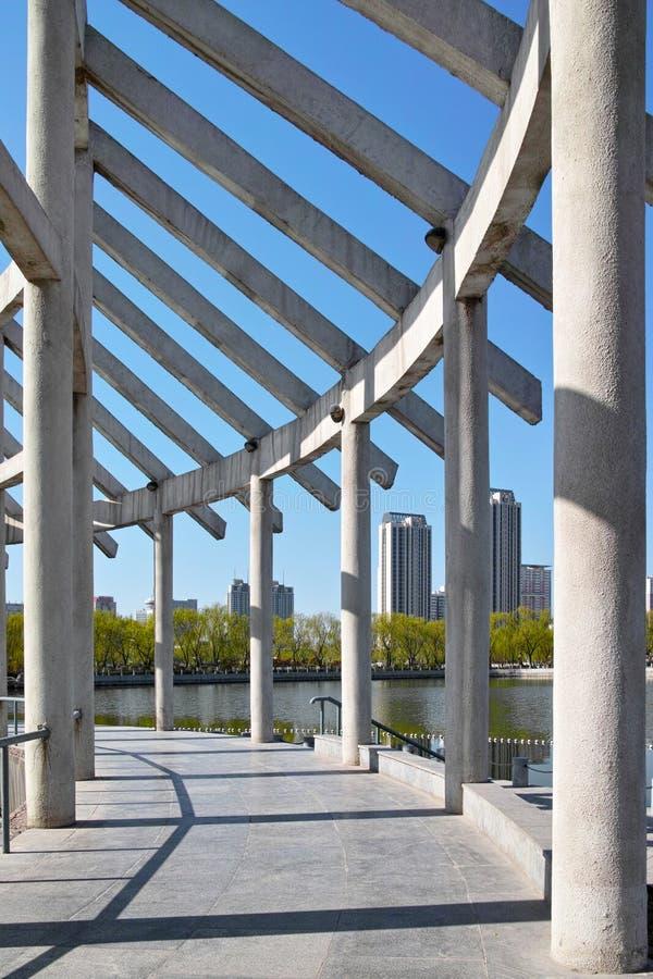 Download Park skeleton frame stock photo. Image of building, longtan - 30369892