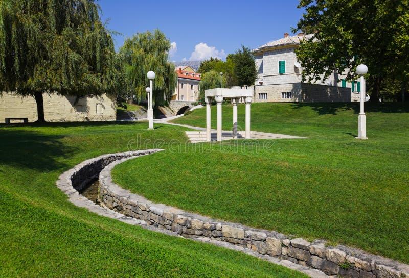 Download Park in Split stock image. Image of retro, landscape - 22514793