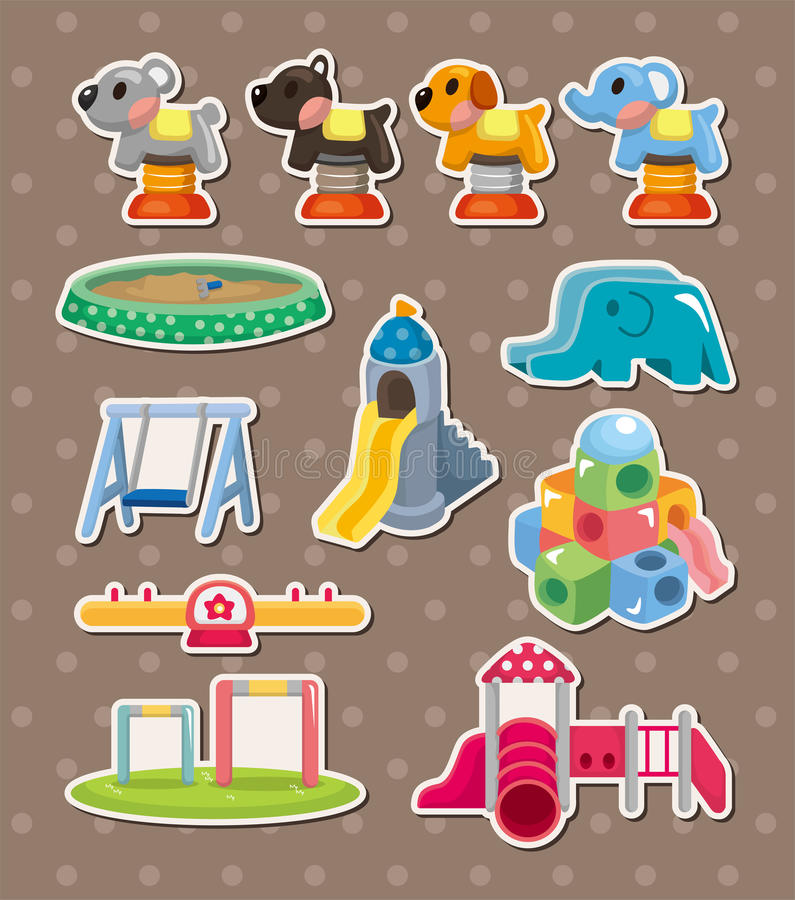 Park Stickers Stock Photography