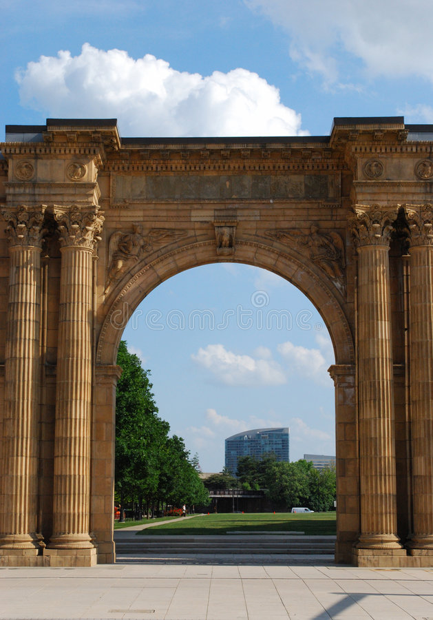 park stone arch zdjęcie royalty free