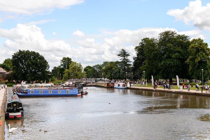 Park Stratford na Avon, Anglia, Zjednoczone Królestwo zdjęcia royalty free
