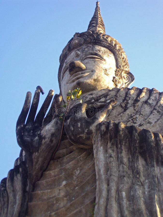 Park Sukhothai Buddha lizenzfreie stockfotografie