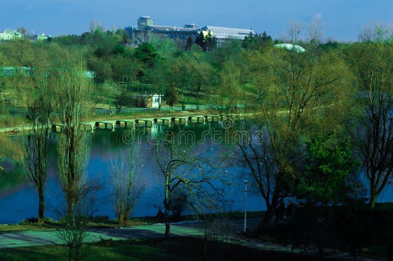 Park Tineretului, Boekarest, Roemenië stock fotografie
