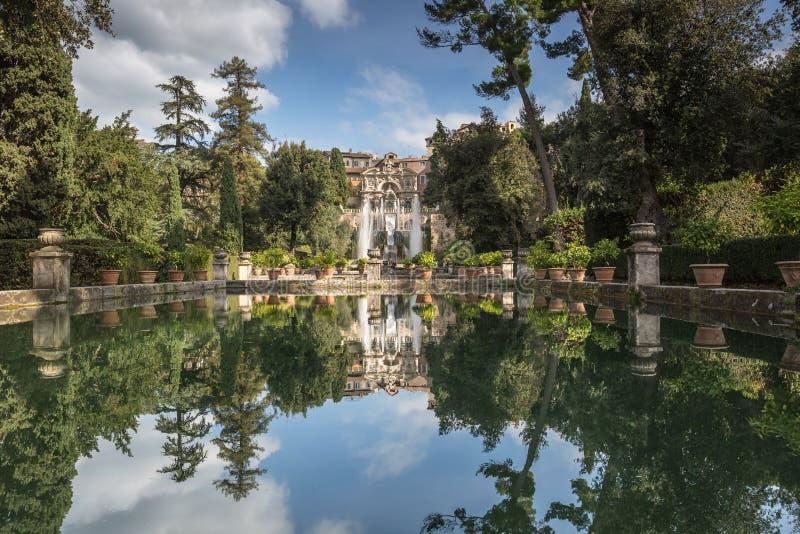 Park Tivoli in Italien lizenzfreie stockbilder