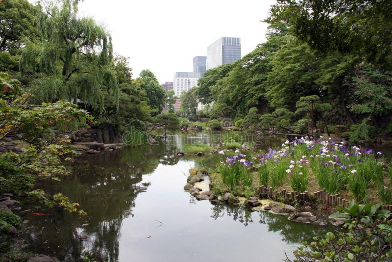 park Tokio obrazy stock
