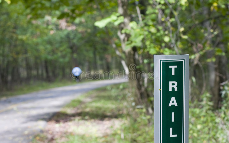 Download Park Trail stock image. Image of park, forest, pavement - 2179333