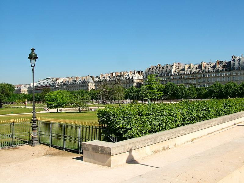 Tuileries Park in Paris, France stock photos