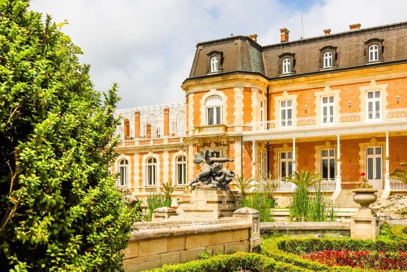 Park und Palast Evxinograd oder Evksinograd Varna, Bulgarien stockbilder