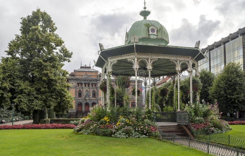 Park van Bergen stock foto's