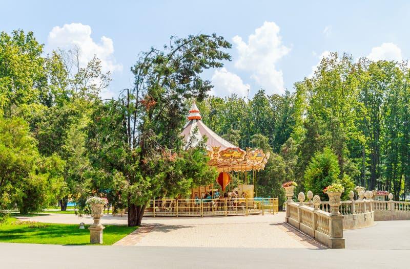 Park van de landschaps het stedelijke recreatie royalty-vrije stock foto's