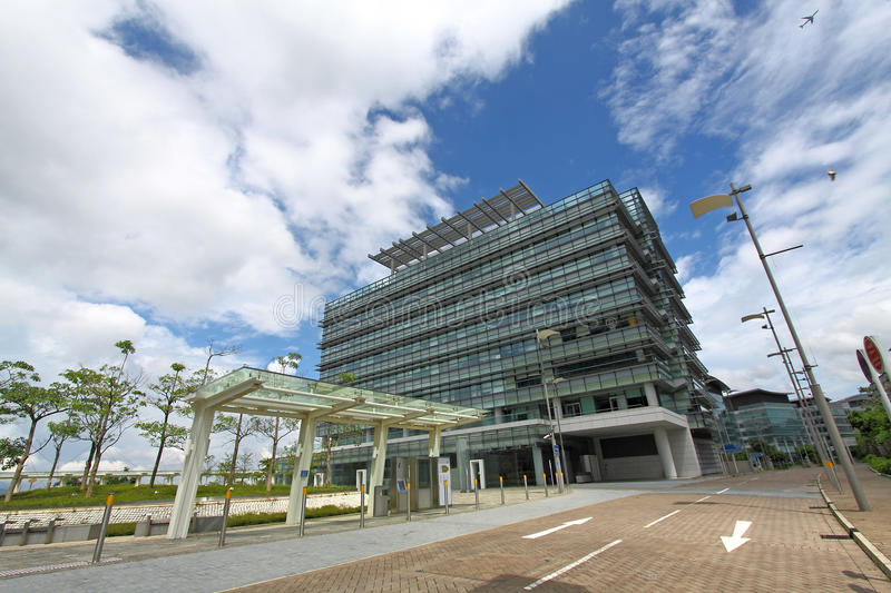 Download A Park With Various Buildings Stock Photo - Image: 20845322