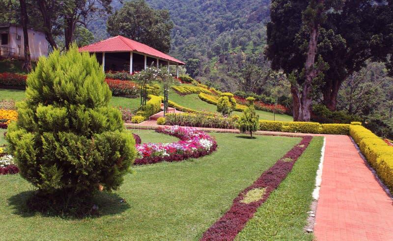 Park veiw royalty-vrije stock afbeeldingen