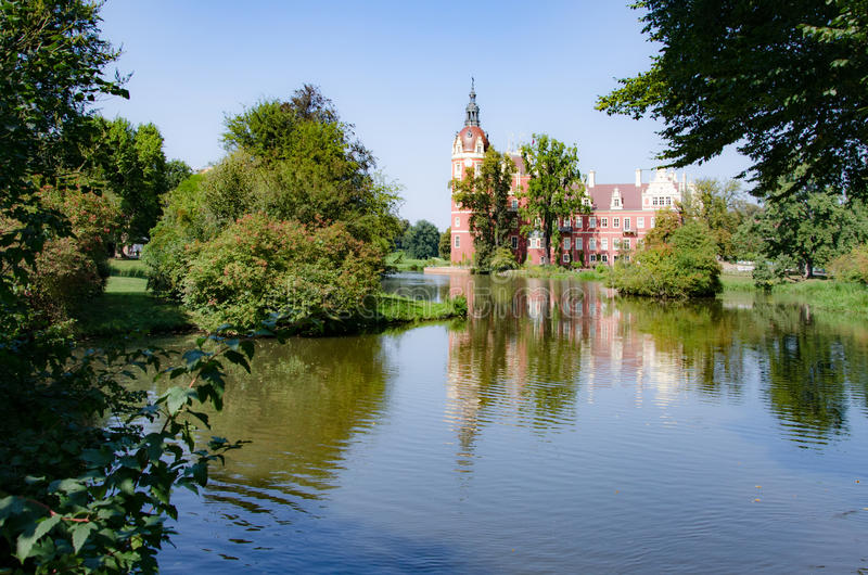 Park von Muskau, Muskauer Park lub Fürst-Pückler-Park, Park Mużakowski royalty free stock photos
