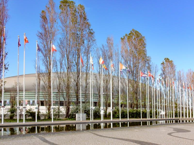 Park von Nationen, in Lissabon stockfoto
