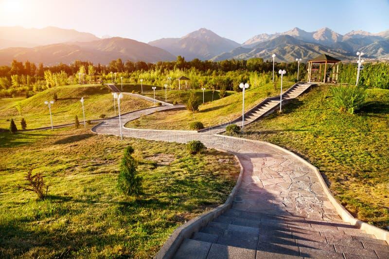 Park w górach obrazy royalty free