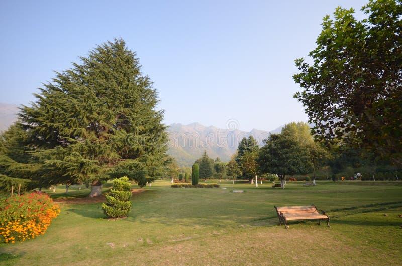 Park w Kaszmir obrazy stock