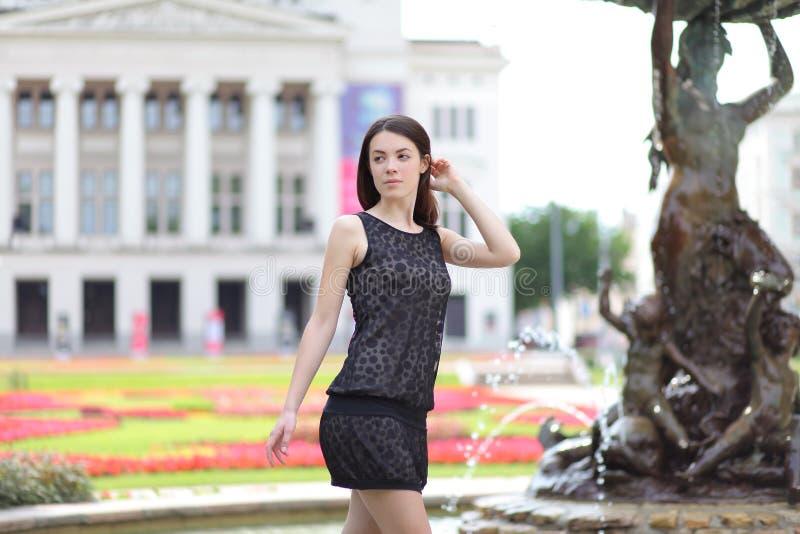 Park w Riga obrazy stock