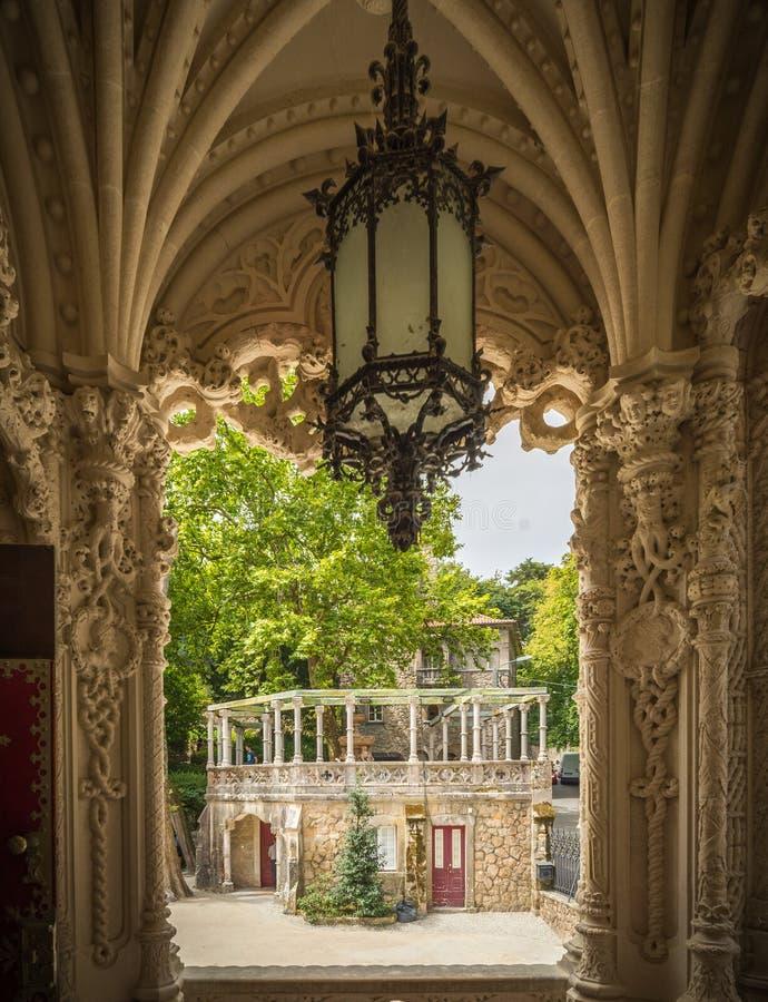 Park w Sintra zdjęcie royalty free